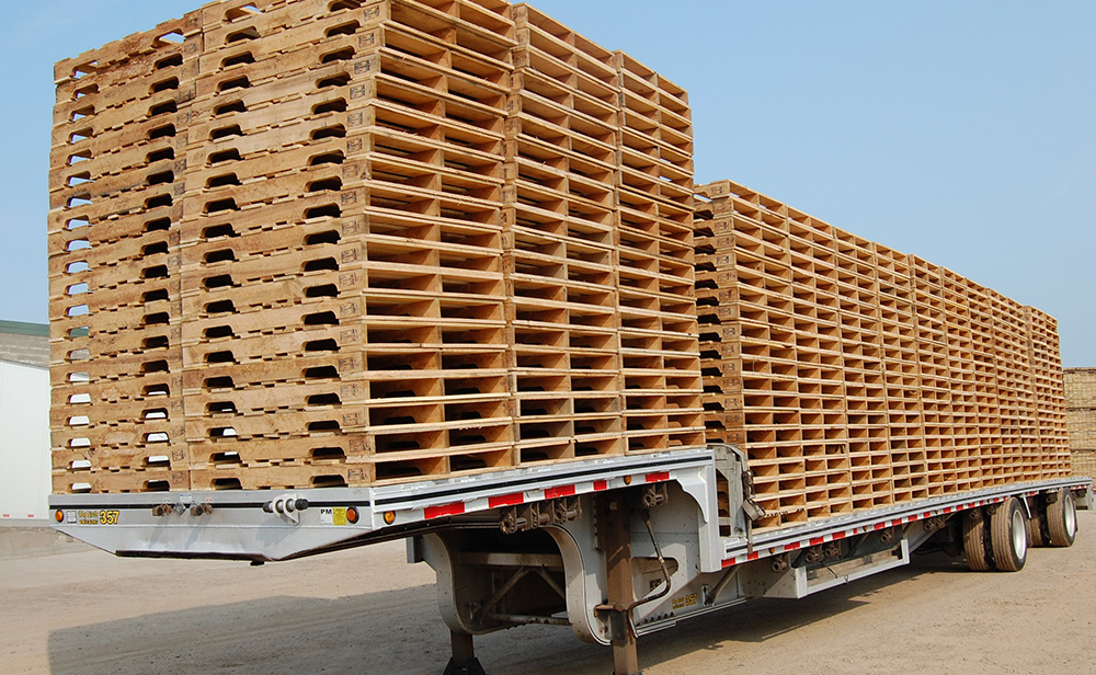 High-quality wooden pallets from Savanna Pallets in McGregor, MN