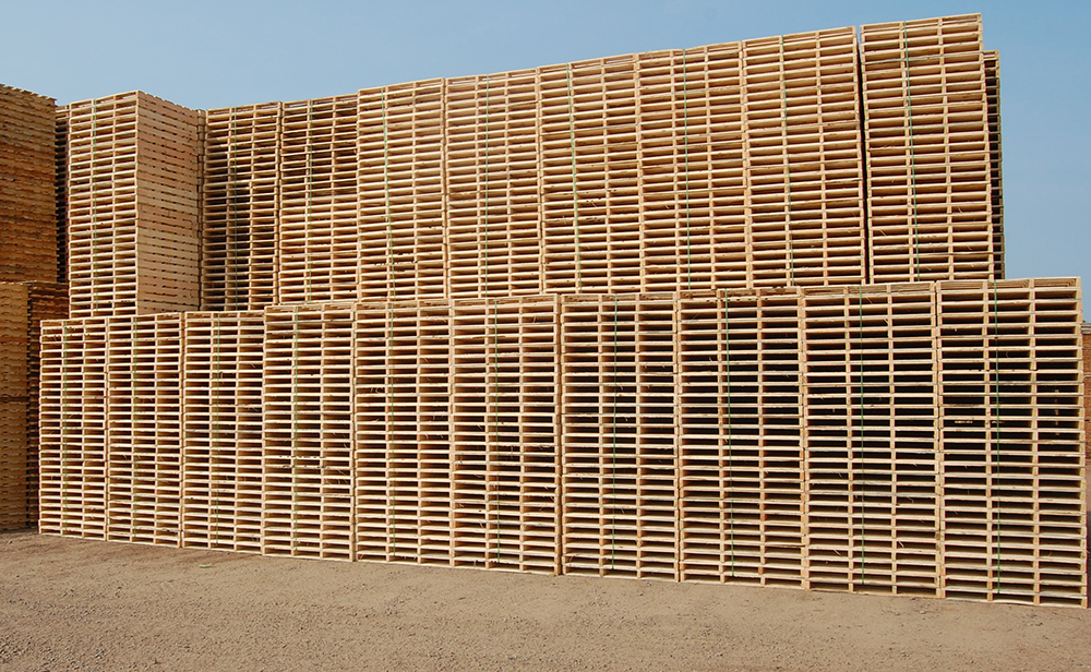 Pallets from Savanna Pallets are always constructed using brand-new wood. No used wood in our pallets.